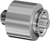 Permanent Magnetic Barrier Can Clutch Series MKS -- MKS 12 - Image
