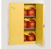 Eagle 45 gal Yellow Hazardous Material Storage Cabinet - 048441-00379 -- 048441-00379