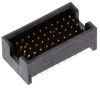 Rectangular Connectors - Headers, Male Pins -- 612-MOLC-110-01-S-Q-ND -Image
