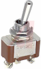SWITCH, STANDARD SIZE TOGGLE, SCREW TERMINALS, SPDT, ON-NONE-ON -- 70192221