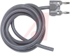 Cable Assembly, RG58C/U, 50 Ohms, Black, 60 inch length -- 70197813