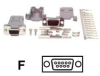 DB9 SERIAL FEMALE D-SUB CRIMP CONNECTOR -- C9PCF