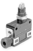 MICRO SWITCH SL1 Series Limit Switch, Top Roller Plunger, 1NC/1NO SPDT Snap Action, Compression Fitting