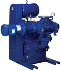 Kinney® CB Compact Booster Systems combine the features of Kinney KT™ Pumps and Integral Drive (C-face) Boosters into a space efficient package capable of continuous high pumping capacity down to 10 microns (0.13 Pa).