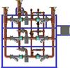 The Brain Series Mixing Valve -- DMC80-80-80BS - Image