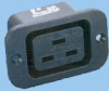 IEC 60320 Sheet J Screw Mount Power Outlet -- 83011351