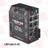 BLACK BOX CORP LBH150A-HD-SSC-24 ( 6-PORT INDUSTRIAL 10/100 ETHERNET SWITCH HARDENED TEMPERATURE ) -Image