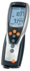 testo 435-3, multi-functional measuring instrument with built-in differential pressure measurement for air conditioning, ventilation and Indoor Air Quality, with battery and calibration protocol -- 0560 4353