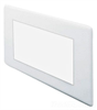 Incandescent/Fluorescent/HID Recessed Trim -- 104-WH