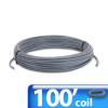 CABLE RS485 100ft COIL 1 TWISTED PAIR 24AWG PVC -- L19827-100