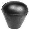 Plastic Oval Tapered Knob