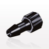 Male Luer Lock to Barb, Black -- LM6131 -Image