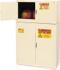 15-Gallon Flammable Liquid Safety Add-On Storage Cabinet -- CAB134-BEIGE - Image