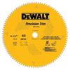 Dewalt DW7119PT Precision Trim Cross Cutting Carbide Blade -- BLADECARCRO60T812DEW