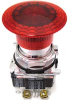 Switch, pushbutton; 40MM; Push Pull; Illuminated, 120V, FV, 1NO/1NC -- 70058273