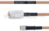 N Female to SMA Male MIL-DTL-17 Cable M17/128-RG400 Coax in 18 Inch -- FMHR0073-18 -Image
