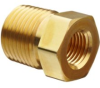 Parker Brass Pipe Fitting, Reducing Bushing, NPT Male X …