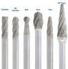 Gesswein Nonferrous Carbide Aluma Burs - Tree -- 129-1370