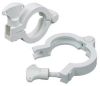 Hinge Clamp,Nylon,4 In Pipe -- 12G291