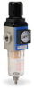 Pneumatic / Compressed Air Filter-Regulator: 1/4 inch NPT female ports -- AFR-2233 - Image