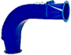 Heavy Duty, Replaceable Back Elbow -- 26