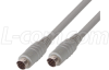 Molded Cable, Mini DIN 8 Male / Male, 2.0 ft -- DK238MM-2