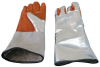 Chicago Protective Apparel Aluminized Rayon/Leather Welding Glove - Wing Thumb - 14 in Length - 901-AR-CL -- 901-AR-CL - Image