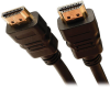 High-Speed HDMI Cable with Ethernet and Digital Video with Audio, UHD 4K x 2K (M/M), 1 ft. -- P569-001 -- View Larger Image