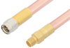 SMA Male to SMA Female Cable 6 Inch Length Using RG401 Coax -- PE33896-6 -- View Larger Image