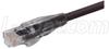 Premium 10/100Base-T Crossover Cable, Black 7.0 ft -- TRD815CRBLK-7 -Image
