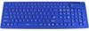 Flexible Fullsize Multimedia Keyboard, Blue -- 3102-SF-18-BLU -- View Larger Image