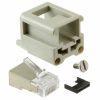 Heavy Duty Connectors - Inserts, Modules -- 1195-4387-ND