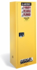 Justrite Slimline Flammable Safety Cabinet -- CAB412