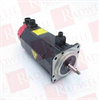 FANUC A06B-0163-B175 ( DISCONTINUED BY MANUFACTURER, SERVO MOTOR, AC MOTOR AM9/3000 A64 W/BRAKE, AC SERVO MODEL AM9/3000, TAPERED SHAFT, BRAKE, A64, 3000RPM, 6AMP, 3PHASE, 161VAC, 200HZ, CNC ) -Image
