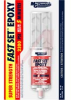 Epoxy; Fast Set; Super Strength; 2 part; 1 oz dual syringe -- 70125811