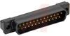 STRAIGHT POST CONNECT;D-SUB;PLASTIC PLUG W/STD MOUNT;25 -- 70041695