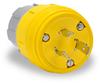 20A Electrical Plug: watertight, locking, NEMA L5-20 -- 26W47BRY