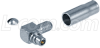 MMCX-Male Crimp Right Angle for RG316,100-Series Cable -- AMMM-1104