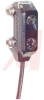 Photoelectric, Convergent, In: 10-30VDC, Output: LO-NPN, 0.4 in. Range, 2m Cable -- 70168248
