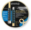 Hose Assy, 3/8 Quick Connect,25Ft, Clear -- 2VDG1