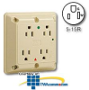 Leviton Hospital Grade Surge Protective Four-In-One.. -- 8480 -- View Larger Image