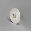 3M 4108 Urethane Foam Tape White 0.5 in 36 yd Roll -- 4108 1/2IN X 36YDS