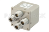 Transfer Electromechanical Relay Failsafe Switch, DC to 12.4 GHz, 160W, 12V, N -- PE71S6174