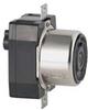 Locking Recep,3P,4W,50A,250V DC/600V AC -- 5DLR9
