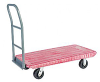 Flush Plastic Deck Platform Trucks with 4 Wheels -- Model PE