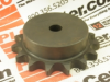 SPROCKET 15TEETH 3/8IN KEYWAY -- 80B15
