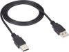 USB 2.0 Cable Type A Male to Type A Male Black 10-ft. -- USB09-0010 -- View Larger Image