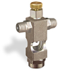 "(Formerly B1629-4X00), Cross Small Sight Feed Valve, 1/8"" Male NPT Inlet, 1/8"" Female NPT Outlet, Handwheel -- B1628-221B1HW -Image"