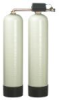 Metered Demand Twin Alternating Water Softener for Hardness Reduction (2 Cu. Ft.), Pipe Size: 1 1/2 IN - Series LCTA-150