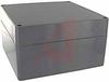 NEMA 4X SEALED ABS ENCLOSURE. DK GRAY BODY & COVER. 6.30L X 6.30W X 3.54H -- 70148854
